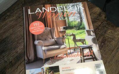 Louis Dupon in het magazine 'Landelijk wonen' en 'Wonen, landelijke stijl'.
