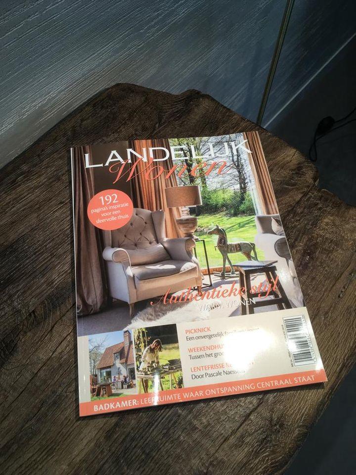 "Louis Dupon in magazine ""Landelijk wonen"""